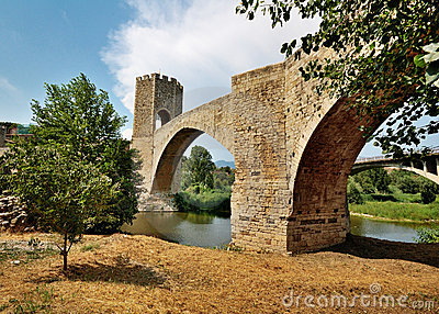 Bridge of Besalu, Spain