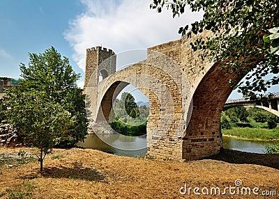 Bridge of Besalu, Spain