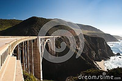 Bridge in the Big Sur
