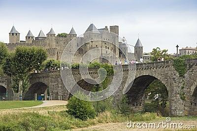 Bridge at Carcassonne