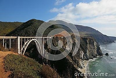The bridge on the coastal highway