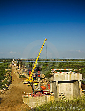 Bridge - Construction Site
