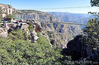 Bridge at the Copper Canyon