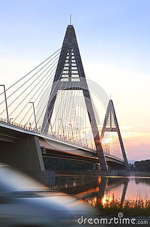 Bridge on Danube River 1