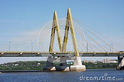 Bridge with decorative elements, city Kasan