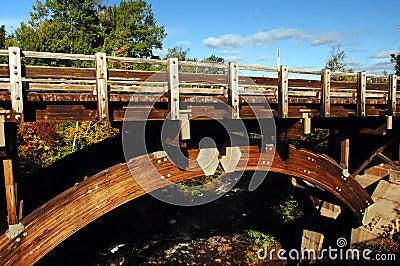 Bridge at Eagle River Falls