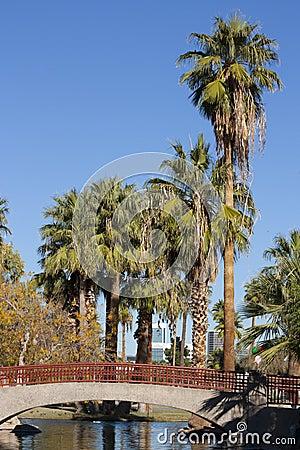 Arching Bridge, Encanto park, Phoenix, AZ