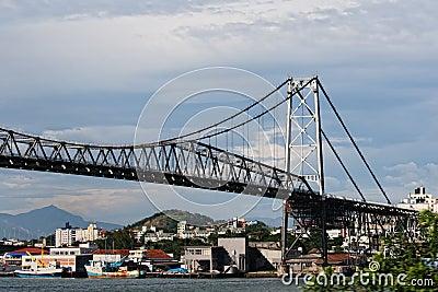 Bridge in Florianopolis