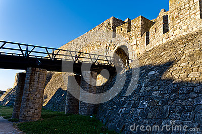 Bridge and the fortress gate