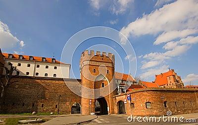Bridge gate, Torun, Poland