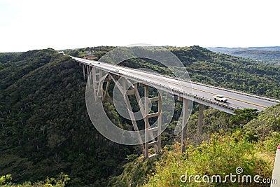 Bridge in Havana region, Cuba