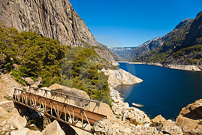 Bridge at Hetch Hetchy