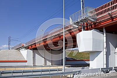 Bridge and highway