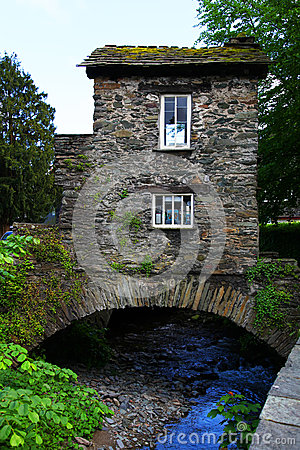 Bridge House over Stock Ghyll, UK