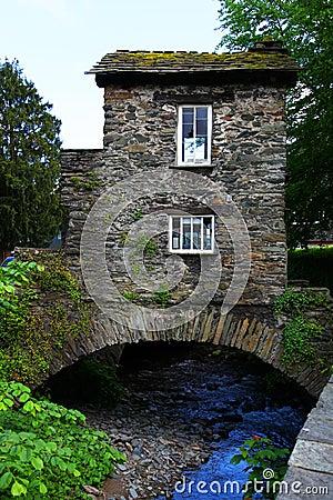 Bridge House over Stock Ghyll, UK