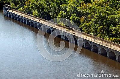 Bridge of Hydroelectric power station