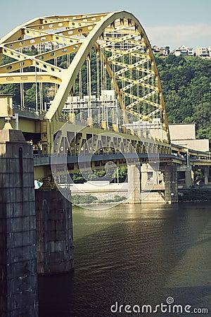 Free Bridge In Pittsburgh Royalty Free Stock Photos - 20342008
