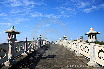 Bridge in Jeju Volcanic Island