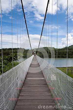 Bridge in Kenting National Park Editorial Stock Image