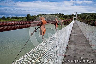 Bridge in Kenting National Park Editorial Photo