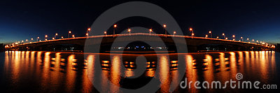 Bridge Lighting Reflection