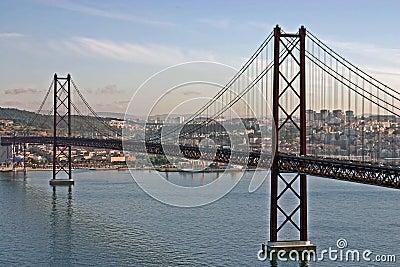 Bridge in Lisbon