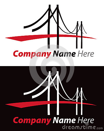 Free Bridge Logo Royalty Free Stock Images - 29411469