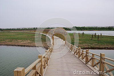 Bridge and Long Corridor
