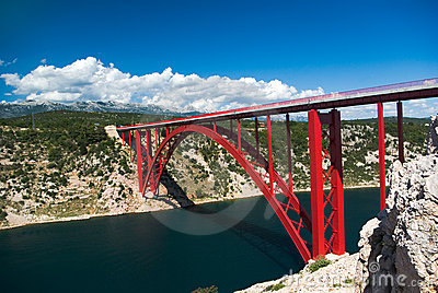 Bridge in Maslenica