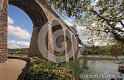 The Bridge at Menai