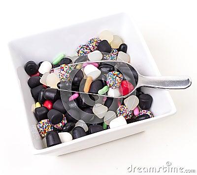 Bridge Mix Licorice Candy