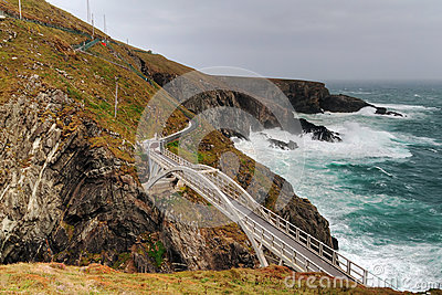 The bridge at Mizen Head