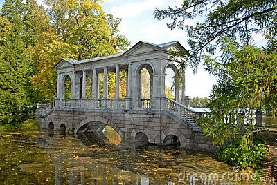 Bridge near Ekaterininsky Dvorets,Pushkin,RF