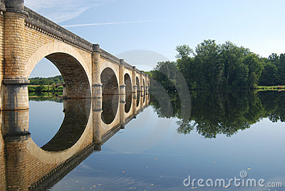 Bridge near Grand-Brassac France