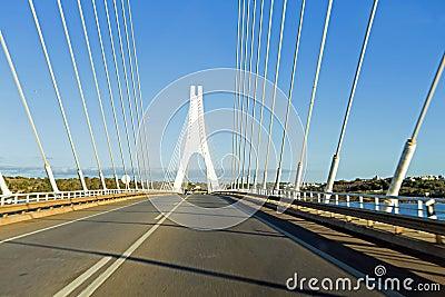 Bridge near Portimao in Portugal