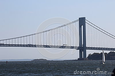 Verrazano Bridge In New York City