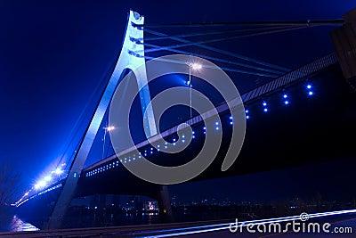 Bridge and night