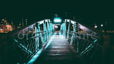 The bridge stock video