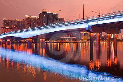 Bridge Night scene