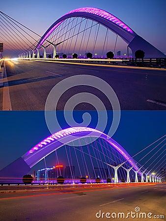 Bridge nocturne