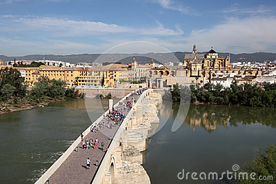 Bridge and old town of Cordoba