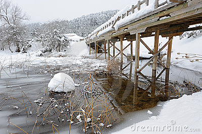 Bridge over Abant Lake-4