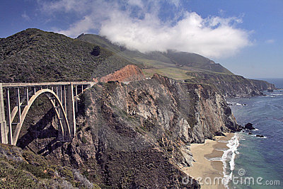 Bridge over Highway One