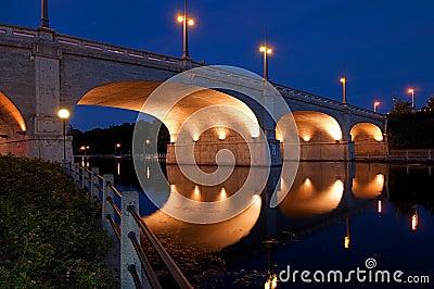Bridge over the Rideau Canal, Ottawa