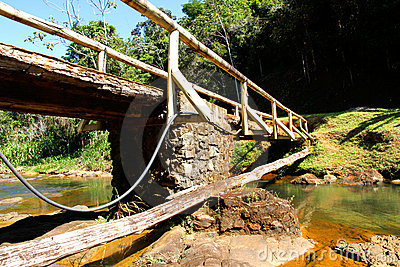 Bridge over a River in Bahia