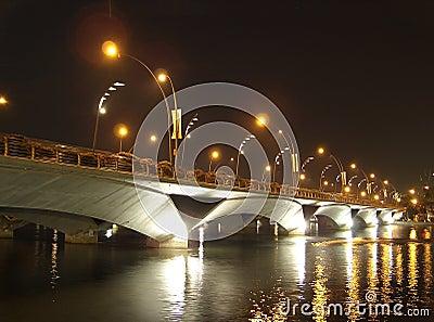 Bridge over Singapore River