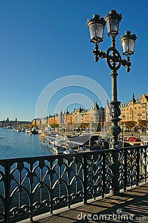 Bridge over Stockholm Waterfro