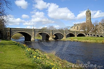 Bridge over the Tweed, Peebles