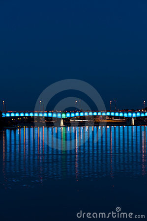 Bridge over the Vistula river