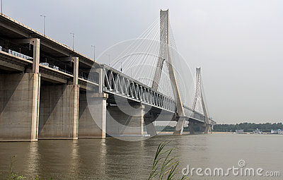 Bridge over Yangtze river